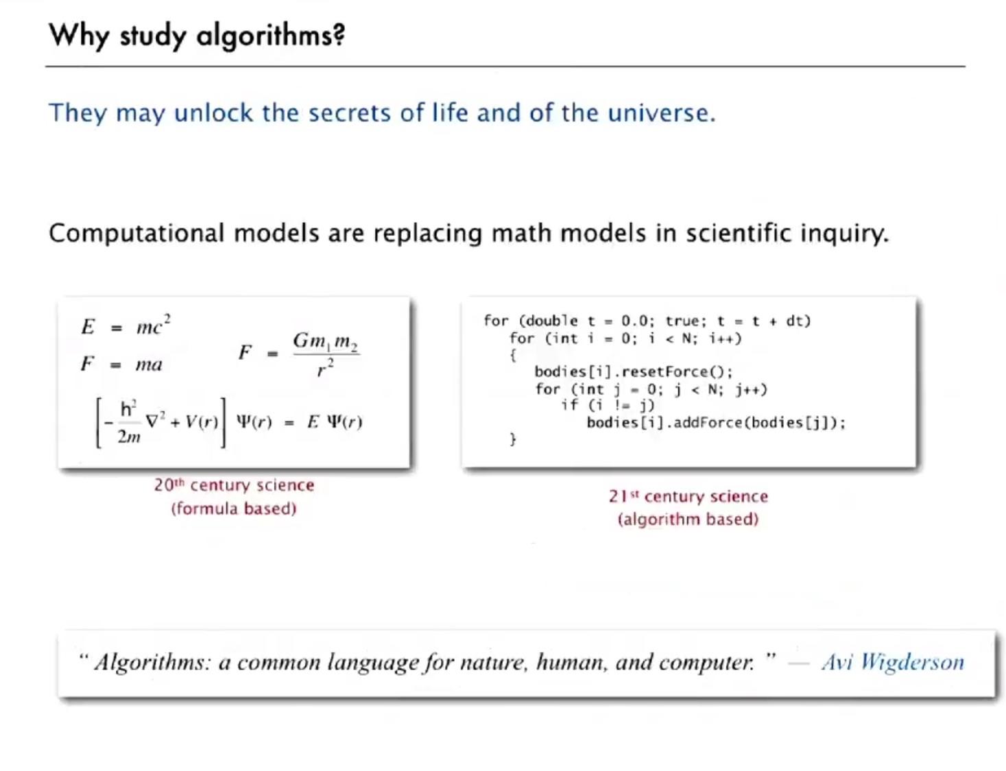 Gli algoritmi intorno a noi: recensione MOOC su Coursera