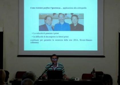 prof. Toffalori durante un suo intervento al Festival della Mente 2015