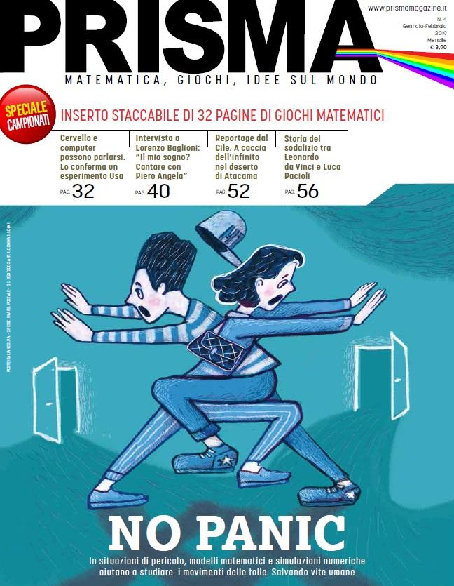 Intervista ad Angelo Guerraggio direttore della rivista PRISMA: matematica, giochi e idee sul mondo