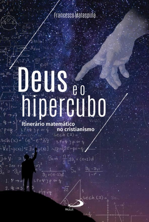 """Copertina della versione in portoghese de """"Dio e l'ipercubo"""""""