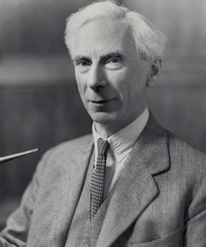 NPG x84663; Bertrand Arthur William Russell, 3rd Earl Russell by Bassano