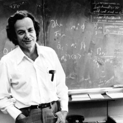 Richard Feynman. Immagine da Wikipedia