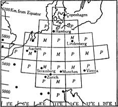 Iniziale suddivisione effettuata da Richardon per le previsioni meteo