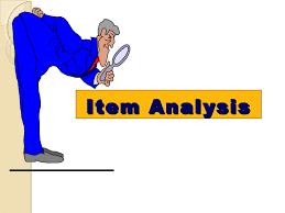 item_analisys