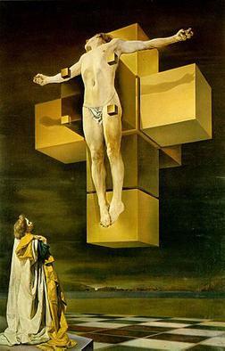 Cristus Hypercubus, dipinto di Salvador Dalì