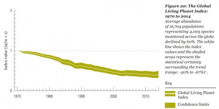 The Global Living Planet Index. Da: https://c402277.ssl.cf1.rackcdn.com/publications/1187/files/original/LPR2018_Full_Report_Spreads.pdf