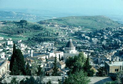 Una veduta di Nazareth