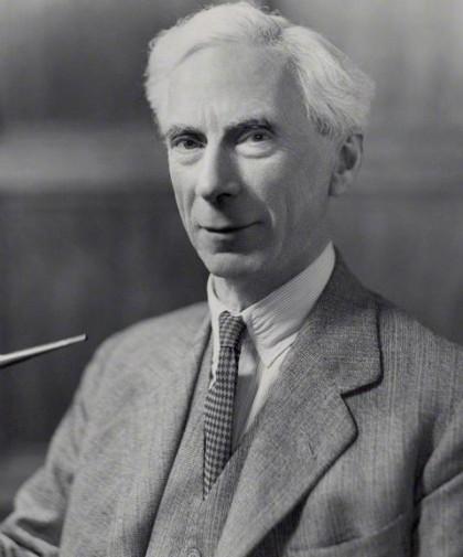 NPG x84663; Bertrand Arthur William Russell, 3rd Earl Russell by Bassano