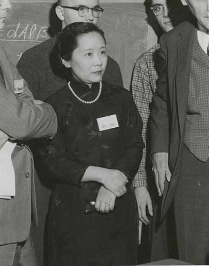 Chien-Shiung Wu. Immagine da Wikipedia